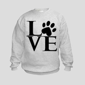 Animal LOVE Kids Sweatshirt