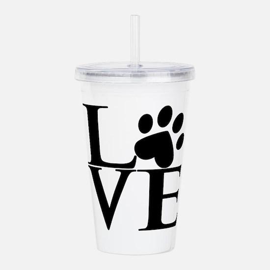 Animal LOVE Acrylic Double-wall Tumbler