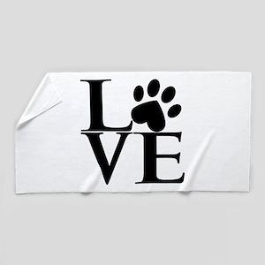 Animal LOVE Beach Towel