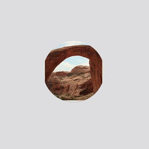 Rainbow Bridge Arch, Utah, USA Mini Button