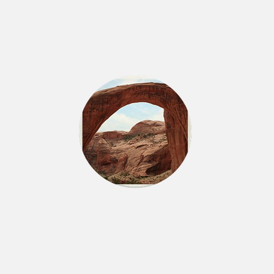 Rainbow Bridge Arch, Utah, USA Mini Button