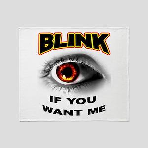 BLINK Throw Blanket