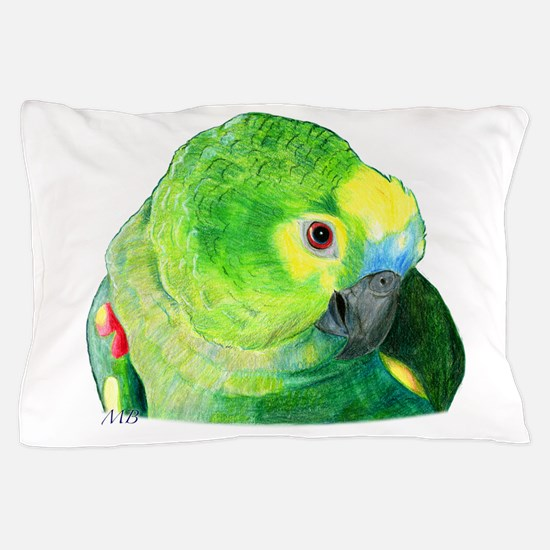 Blue-Fronted Amazon Pillow Case
