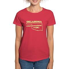 Oklahoma Women's Dark T-Shirt