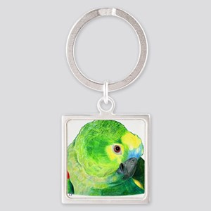 Blue-Fronted Amazon Keychains