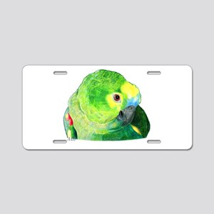 Blue-Fronted Amazon Aluminum License Plate