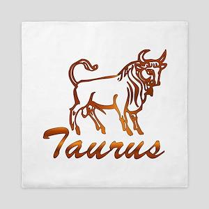 Bronze Taurus Queen Duvet