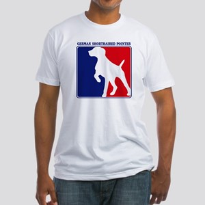 Pro German Shorthaired Pointe Fitted T-Shirt
