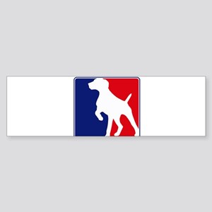 Pro German Shorthaired Pointe Bumper Sticker