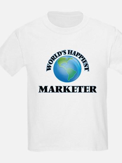 World's Happiest Marketer T-Shirt