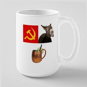 Moscow Mule Drink 3x Mugs
