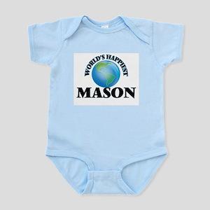 World's Happiest Mason Body Suit