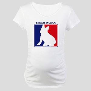 Pro French Bulldog Maternity T-Shirt