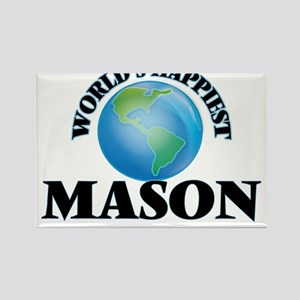 World's Happiest Mason Magnets