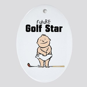 Future Golf Star Ceramic Ornament