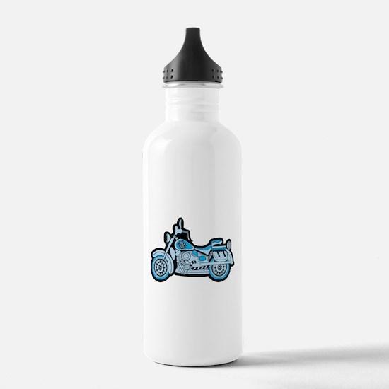 First Blue Bike Water Bottle