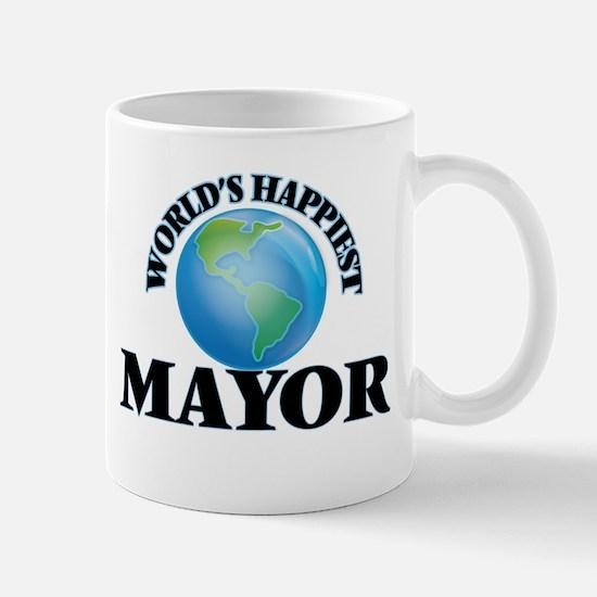 World's Happiest Mayor Mugs