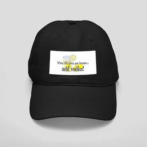 LIFE GIVES YOU LEMONS Black Cap