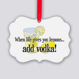 LIFE GIVES YOU LEMONS Picture Ornament