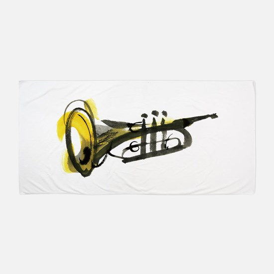 Trumpet Beach Towel