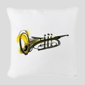 Trumpet Woven Throw Pillow