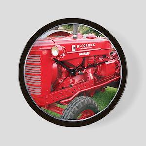 McCormick International Orchard Tractor Wall Clock
