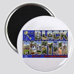Black Mountain North Carolina Magnet