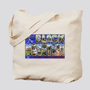 Black Mountain North Carolina Tote Bag