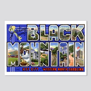 Black Mountain North Carolina Postcards (Package o