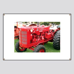 McCormick International Orchard Tractor Banner