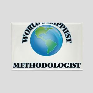 World's Happiest Methodologist Magnets