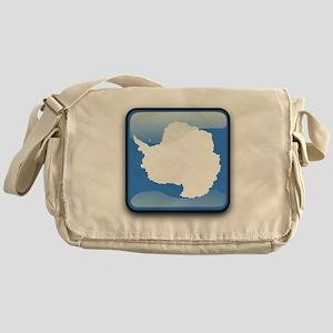 Flag of Antarctica Messenger Bag