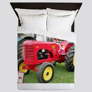 Massey-Harris Tractor Queen Duvet