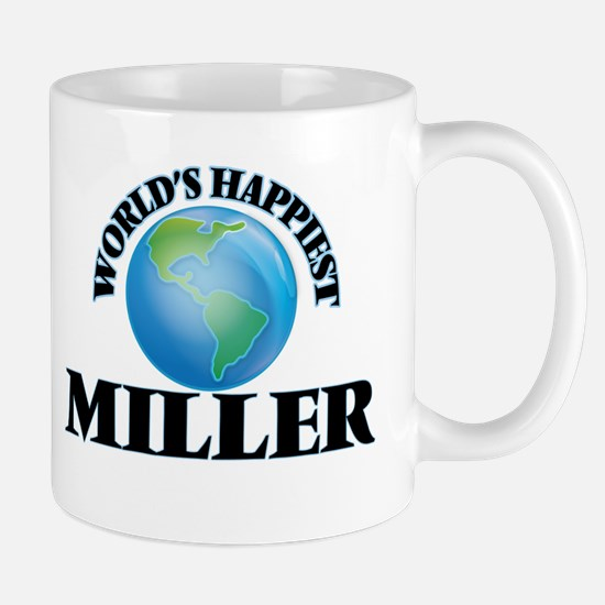 World's Happiest Miller Mugs