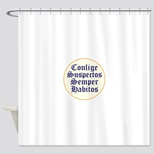Round Up The Usual Suspects Shower Curtain