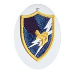 ASA Patch Oval Ornament