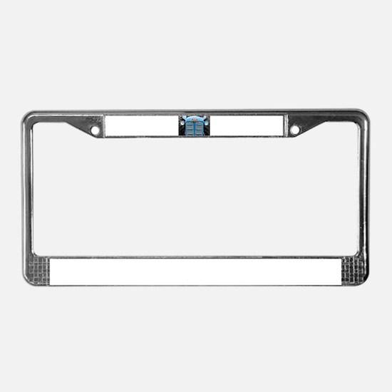 Fordson Super Major Tractor License Plate Frame