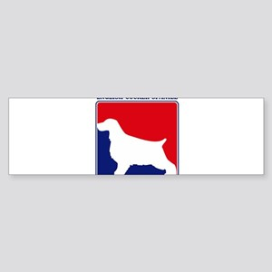 Pro English Cocker Spaniel Bumper Sticker