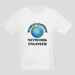 World's Happiest Network Engineer T-Shirt