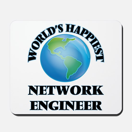 World's Happiest Network Engineer Mousepad