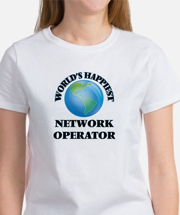 World's Happiest Network Operator T-Shirt