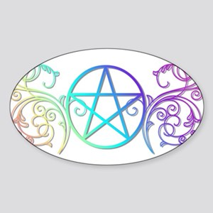 Colorful Pentacle Sticker