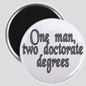 One man, two doctorate - Magnet