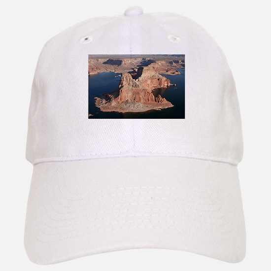 Lake Powell, Arizona/Utah, USA, from the air 1 Baseball Baseball Cap