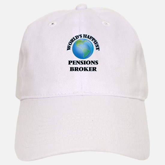 World's Happiest Pensions Broker Baseball Baseball Cap