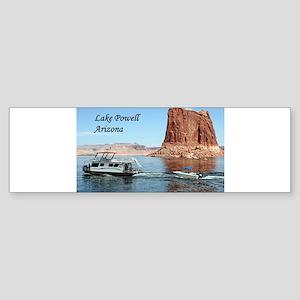 Lake Powell, Arizona, USA (caption) Bumper Sticker