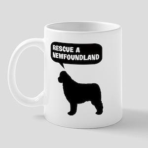 Rescue a Newfoundland Mug