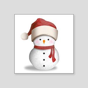 Snowman Baby Sticker