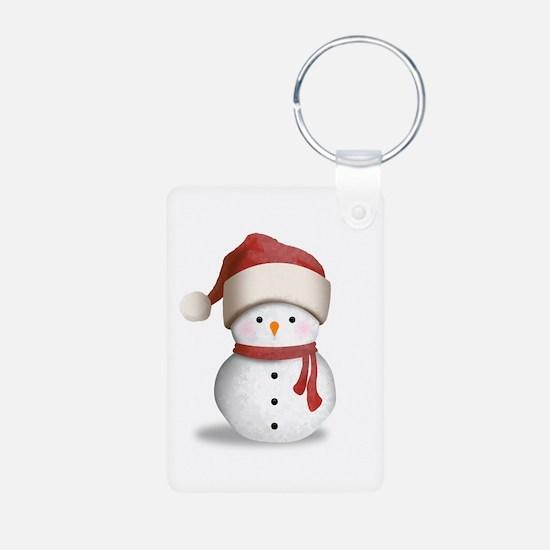 Snowman Baby Keychains