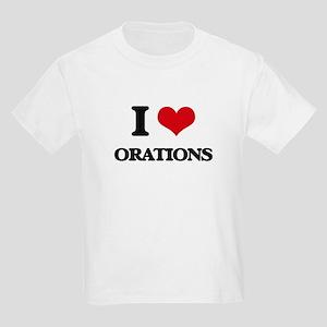 I Love Orations T-Shirt